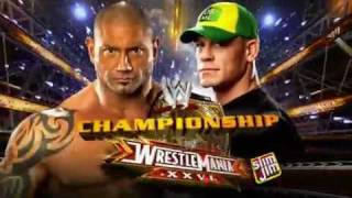 WWE Presents: WrestleMania XXVI OFFICIAL Match Card (HD)