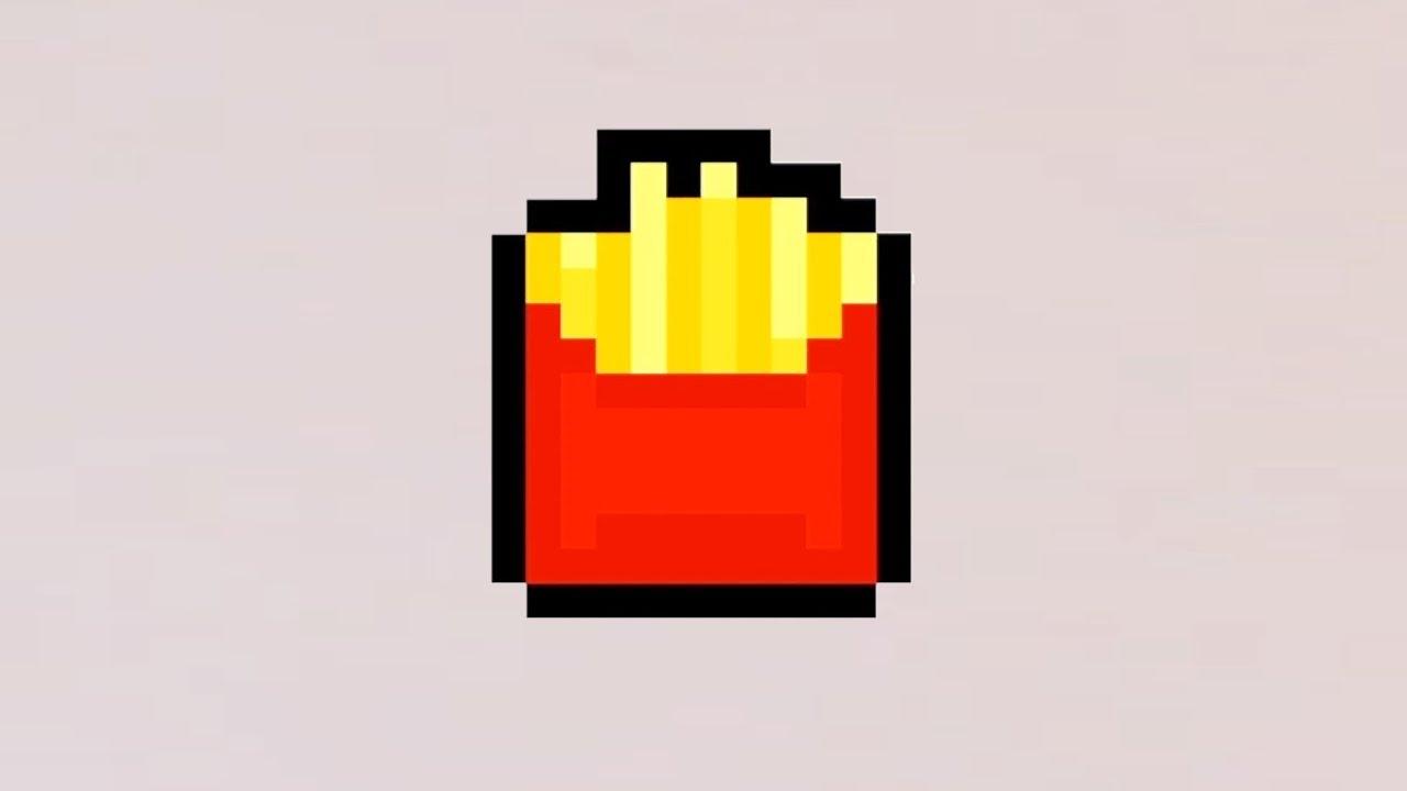 Comment Dessiner Des Frites En Pixel Art