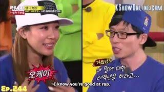 [ENG SUB] Running Man Yoo Jae Suk & Jessi: