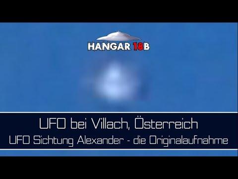 UFO bei Villach, Österreich - UFO Sichtung Alexander - die Originalaufnahme