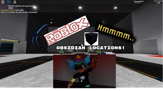 Roblox Hmmm NEW obsidian locations (2019)