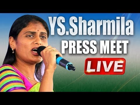 YS Sharmila holds YSRCP Press Meet | ABN Telugu