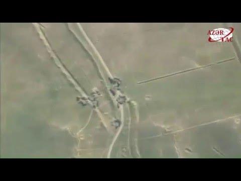 Уничтожены военно-транспортные средства и живая сила ВС Армении