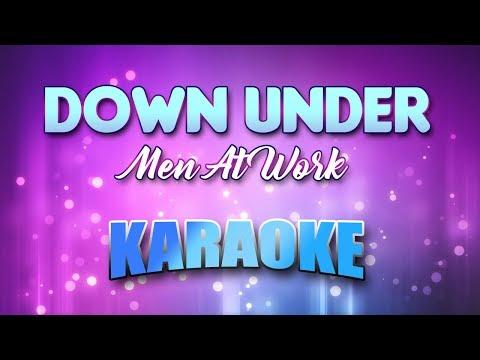 Men At Work - Down Under (Karaoke & Lyrics)