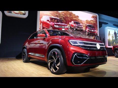 2018 New York Auto Show - Volkswagen Atlas Cross Sport Unveiling