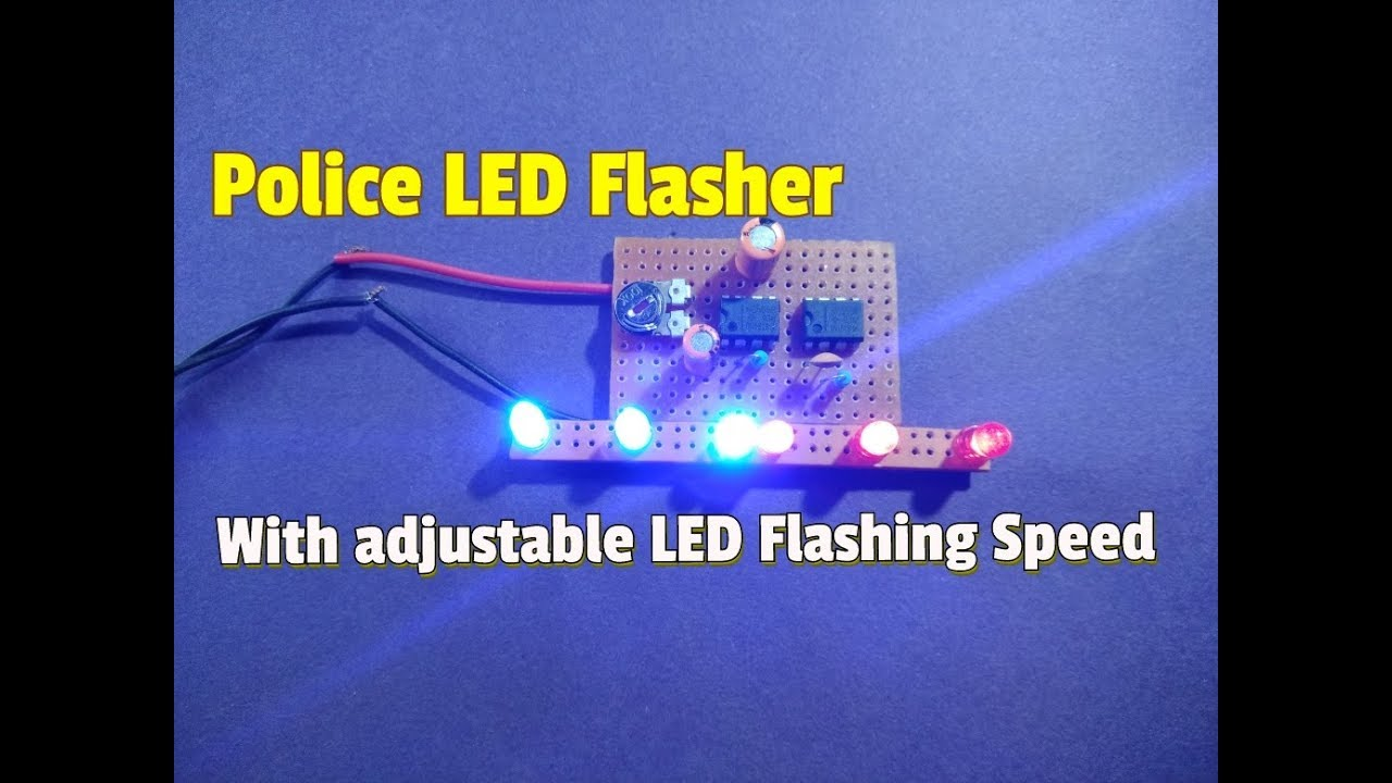 How To Build Fading Leds Circuit Diagram