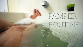SUMMER PAMPER ROUTINE 2017 | At Home Spa Day | JuicyJas