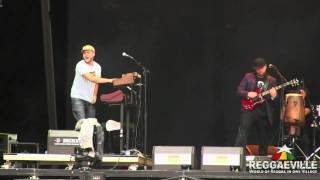 Sebastian Sturm & Exile Airline - Since I Threw The Comb Away @ Chiemsee Reggae Summer 8/26/2012