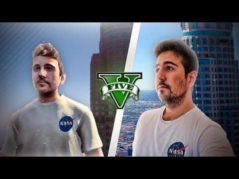 GTA V PC MODS - ATRAPADO DENTRO DEL JUEGO GTA 5 !!- ElChurches