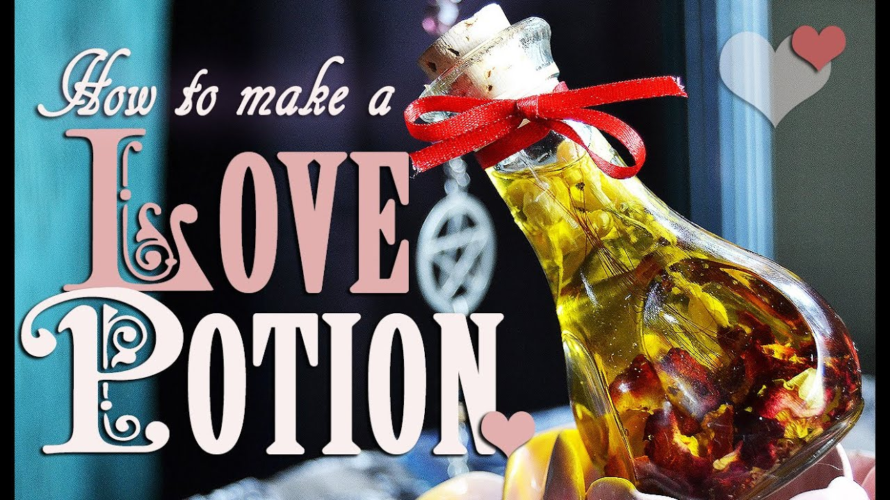 How to Make & Spellcraft a Love Potion Spell  DIY ~ The White Witch  Parlour's Jenna Caprice