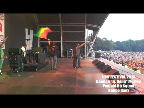 Panjabi Hit Squad & Damian 'Jr Gong' Marley LIVE at LIMF 2013