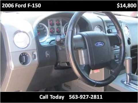 2006 Ford F-150 Used Cars Manchester IA & 2006 Ford F-150 Used Cars Manchester IA - YouTube markmcfarlin.com