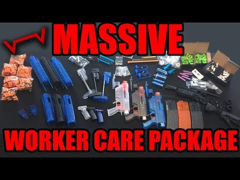 The MOST INSANE Tactical Nerf Package Ever!!!