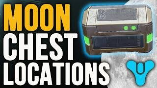 Destiny: All 5 Golden Chest Locations on the Moon (Oceans of Storms)