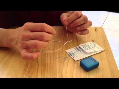 oral b glide threader floss