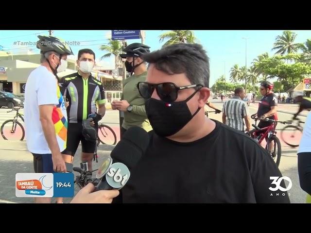 Vereadores aderem ao dia mundial sem carro e vão à Câmara de bicicleta-   Tambaú da Gente Noite