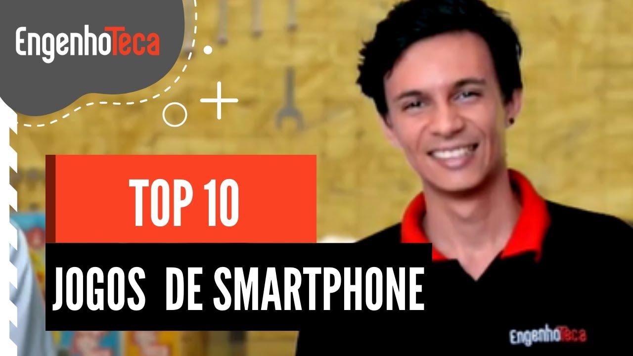 LISTA 10 - Melhores jogos de smartphone - INVENTA EM CASA