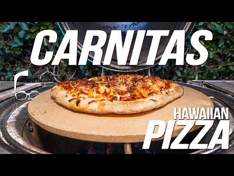 HOMEMADE CARNITAS BECOMES THE BEST HAWAIIAN PIZZA!  | SAM THE COOKING GUY 4K