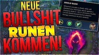 Neue Bullshit Runen kommen in Season 9! [League of Legends] [Deutsch / German]