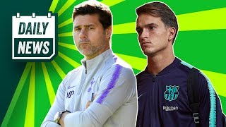 Manchester United to pay £40m for Pochettino? + Denis Suarez transfer tale ► Daily Football News