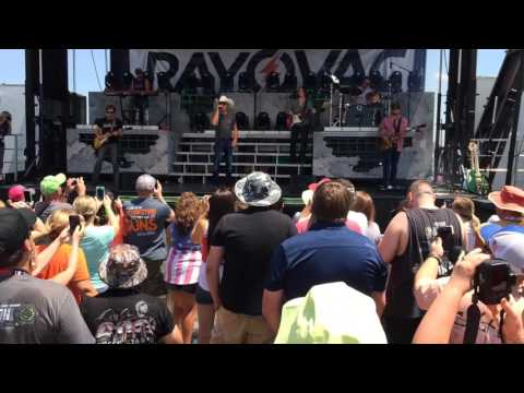Justin Moore Country Artist Performance At Charlotte Motor Speedway