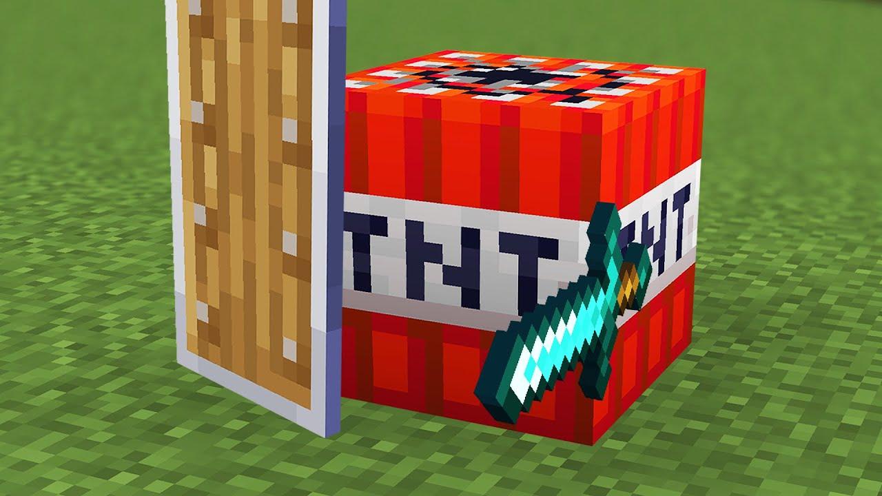 Beating Minecraft but I'm TNT...