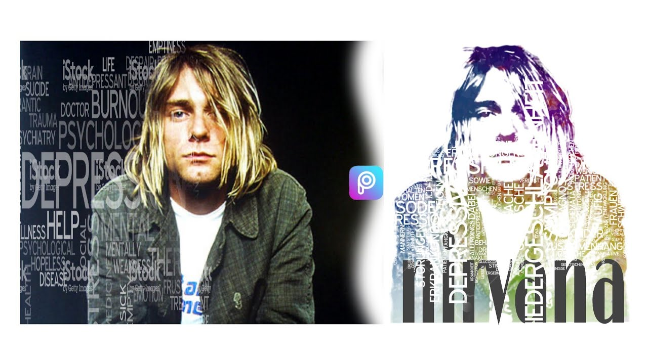 PicsArt / nirvana portrait thumbnail # quick tutorial