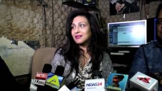 Repeat youtube video Rituparna Sengupta Dubbing For Her New Bollywood Movie Main Khudiram Hoon