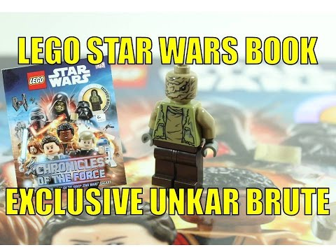 LEGO STAR WARS CHRONICLES OF THE FORCE DK BOOK EXCLUSIVE UNKAR BRUTE REVIEW