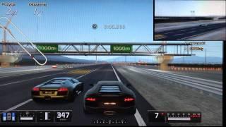 Gran Turismo 5 (PS3): Lamborghini Aventador vs Lamborghini Murcielago LP640 - Route X Oval [720p]