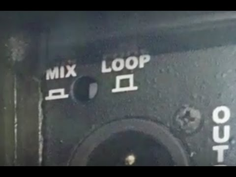 Quick tip for the beginner DJ: How to use your speakers Mix and Loop button