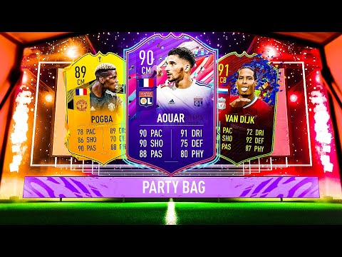 THIS IS WHAT I GOT IN 30x MORE FUT BIRTHDAY PARTY BAGS! #FIFA21 ULTIMATE TEAM