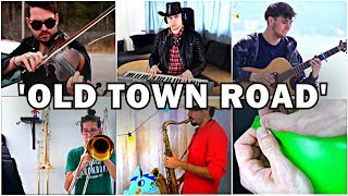 Who Played it Better: Old Town Road Violin, Balloon, Guitar, Piano, Sax, Trombone