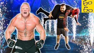 БРОК ЛЕСНАР — великий рестлер и чемпион UFC! Разбор карьеры, стиля и техники от Кости Иванова