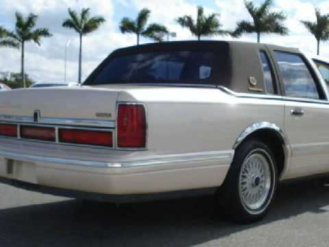 1997 Lincoln Town Car Royal Palm Beach Fl 33411 Youtube
