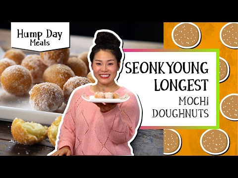 How to make mochi donuts recipe
