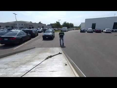 BMW X3 Wrecked