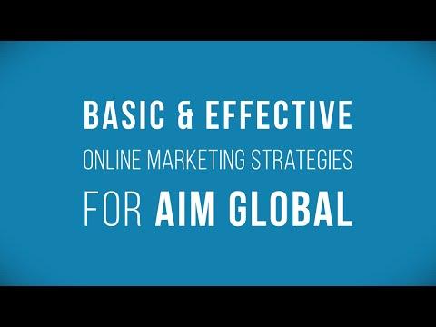AIM Global - 3 Secret Internet Strategies you SHOULD know