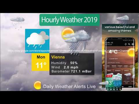 Hourly Weather App Weather Channel Weather Network Apps On