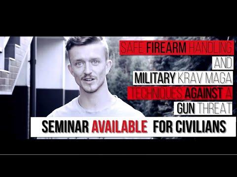 Self Defence Gun Disarming And Safe Firearm Handling Krav Maga Seminar by Fit2FightBack