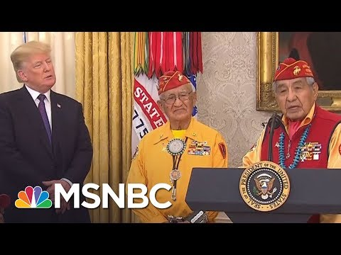 Gracious Navajo Vets Sidelined By Donald Trump Attacks | The Last Word | MSNBC