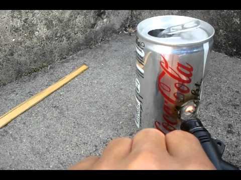 cola can vs pocket torch hd youtube. Black Bedroom Furniture Sets. Home Design Ideas