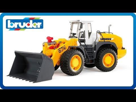 Escavatore Liebherr Bruder 02426