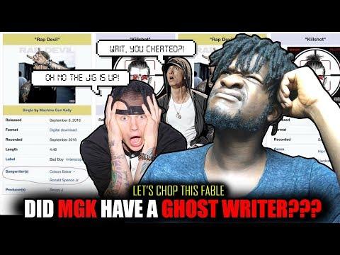 "Did Machine Gun Kelly Use  A Ghostwriter For Eminem Di$$ ""Rap Devil""? (FINAL THOUGHTS)"