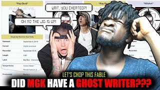 "Did Machine Gun Kelly Use  a Ghostwriter for Eminem Di$$ ""Rap Devil""? (FINAL THOUGHTS)"