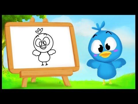 Comment dessiner un oiseau ?