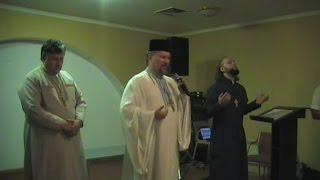 Архиепископ Сергей Журавлев (РПЦХС) семинар 2014.09.06 в КЕМО