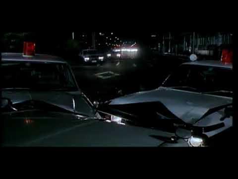 JAPANESE MOVIE 邦画 「化石の荒野」 カーチェイス シーン CAR CHASE 映画