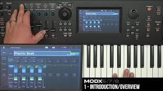 Yamaha MODX Video Tutorial Lesson #1 - Intro