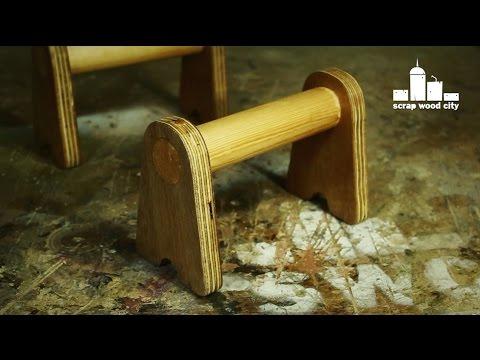 Diy Wooden Push Up Handles Youtube